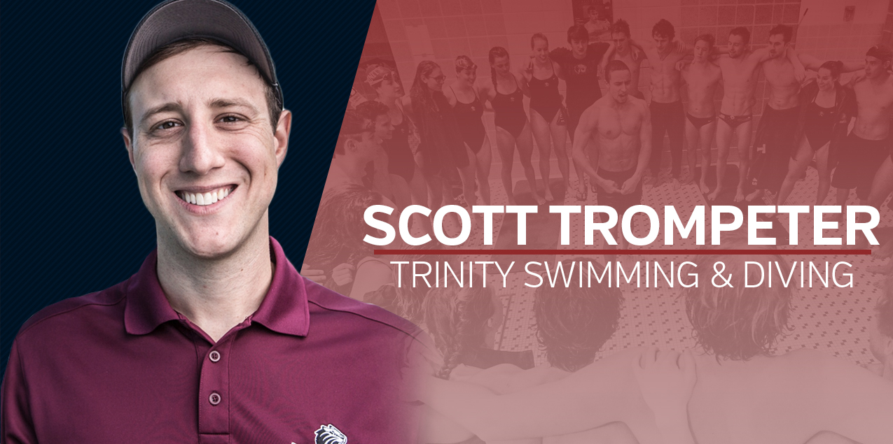 Trinity Names Scott Trompeter Head Swimming & Diving Coach