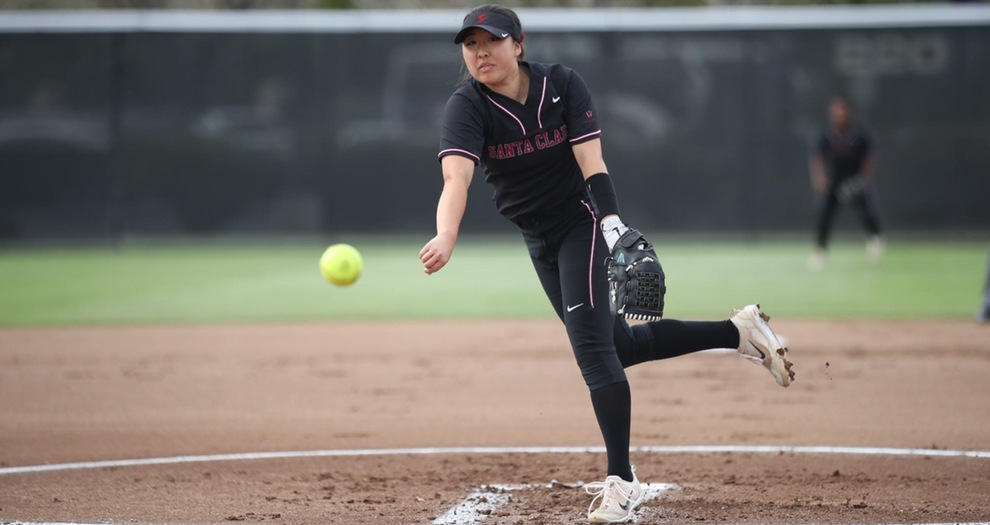 Kim's Incredible Effort Leads Softball to Split with San Diego on Saturday
