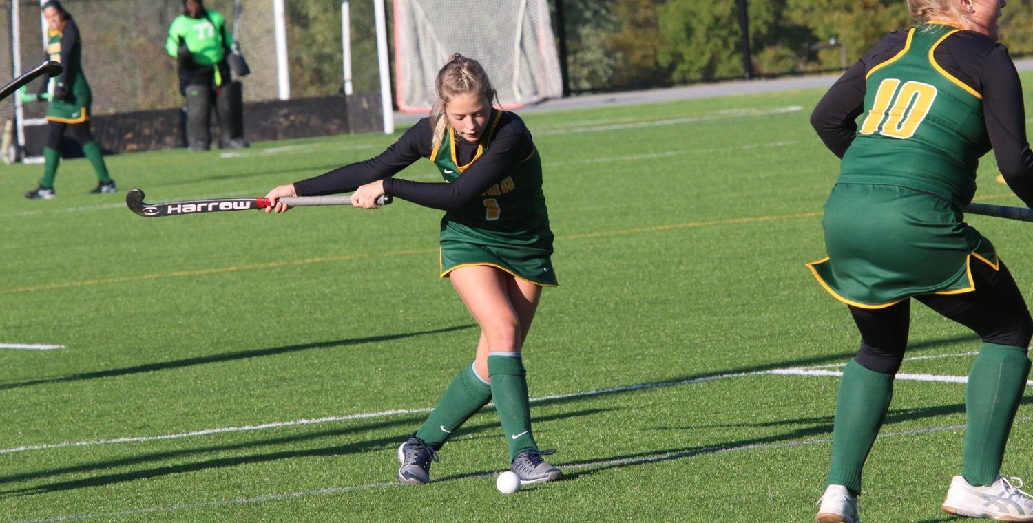 Nicole Wilson (1) scored for Keuka College on Tuesday