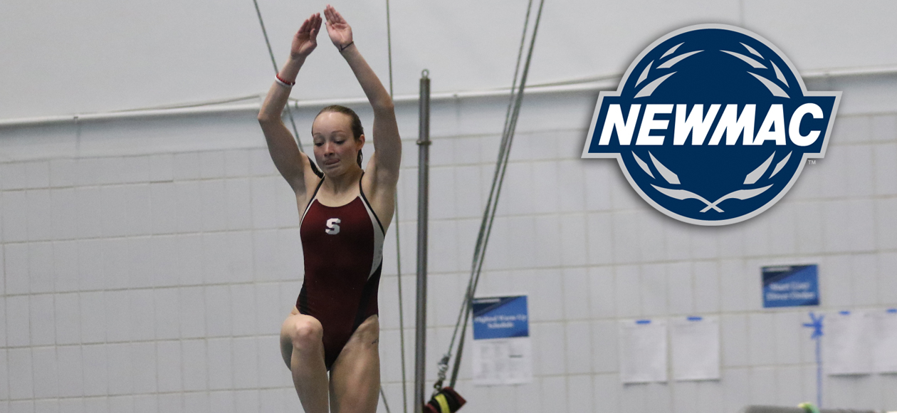Skaza Picks Up NEWMAC Women's Diver of the Week Recognition