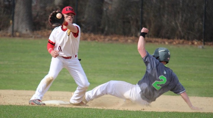 Baseball Tops Becker 12-4 in Inter-Conference Clash