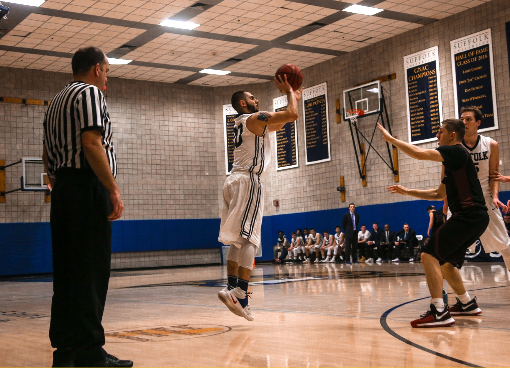 Djema Nets Career Day in Men's Basketball's 69-62 Setback to JWU