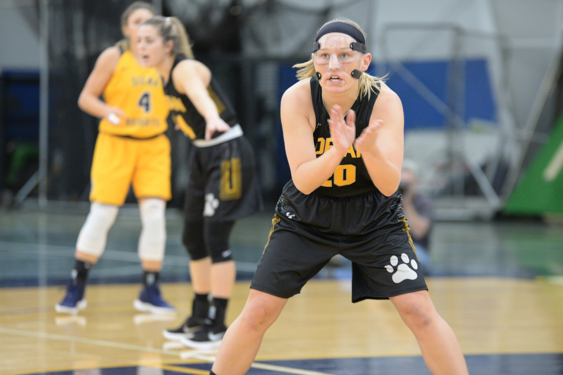 Emily Somerville scored a game-high 17 points at Siena Heights on Tuesday. (Action photo by Patrick Stewart)