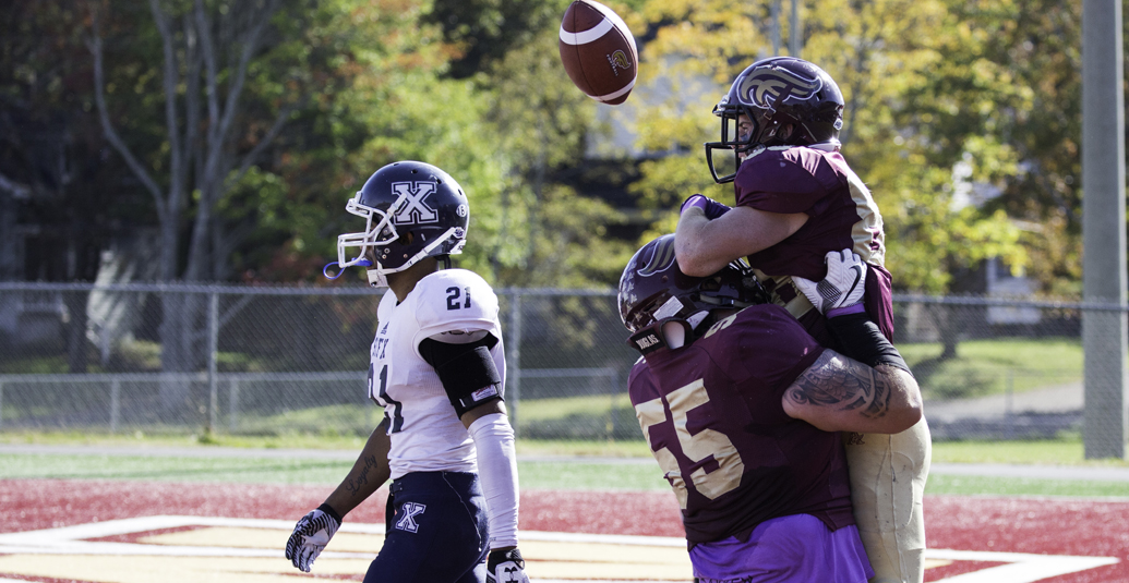 Mounties pick up critical 32-15 win over StFX