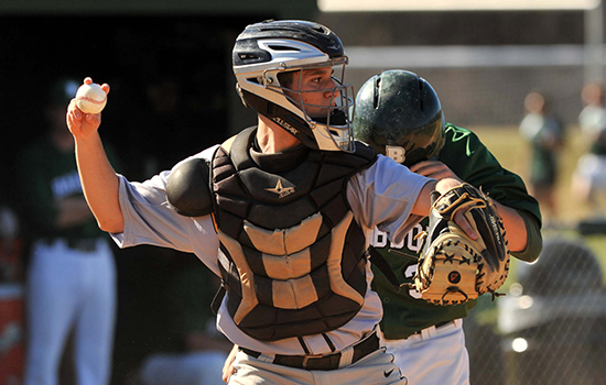 Baseball Edged in Season Opener