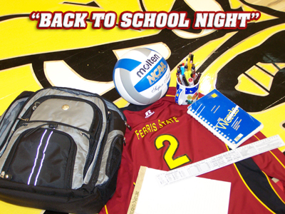 "Ferris Volleyball ""Back To School"" Event Set For This Friday Night"