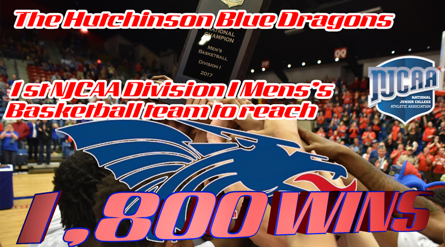 Blue Dragon Basketball becomes the first NJCAA school to reach 1,800 wins