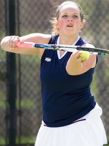 No. 16 Washington And Lee Shuts Out E&H Women's Tennis, 9-0, Saturday Afternoon