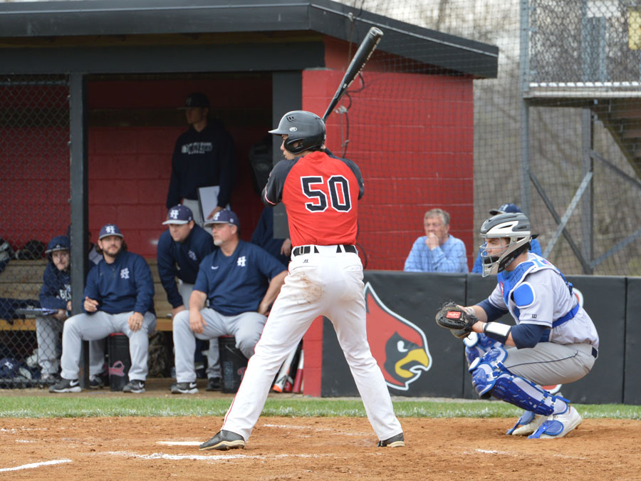 Baseball Falls to Moravian in Landmark Opener, Double Header