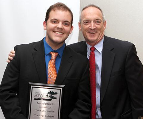 Beaudin honored as men's tennis Gator of the Year