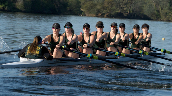 ROWING'S VARSITY EIGHT ADVANCES TO SAN DIEGO CREW CLASSIC GRAND FINAL