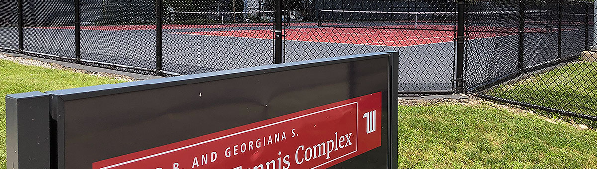 David B. and Georgiana Albright Tennis Complex