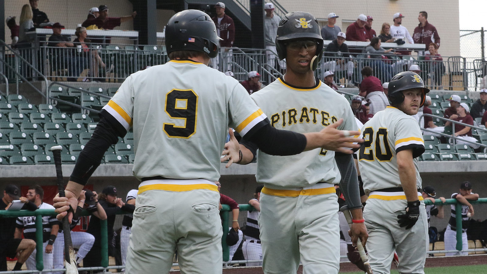 Pirates Knock Off Top-Seeded Centenary in Opening Game of SCAC Championship