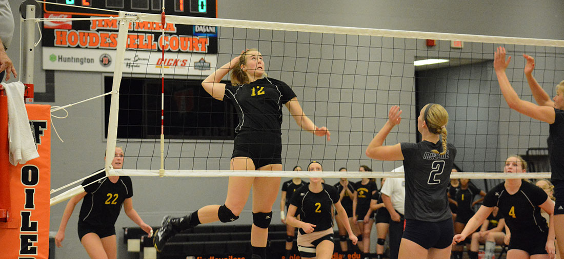 Volleyball Falls In Four Close Sets At Ohio Valley
