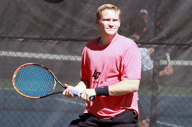 Men's Tennis: Covenant takes USA South match from Panthers