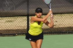 Women's Tennis Nabs First Conference Victory of Season, 5-4, over Rhodes