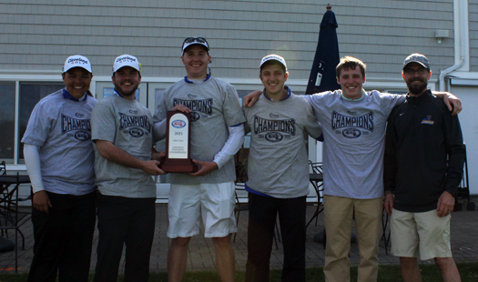 Worcester State Claims Third MASCAC Men's Golf Championship