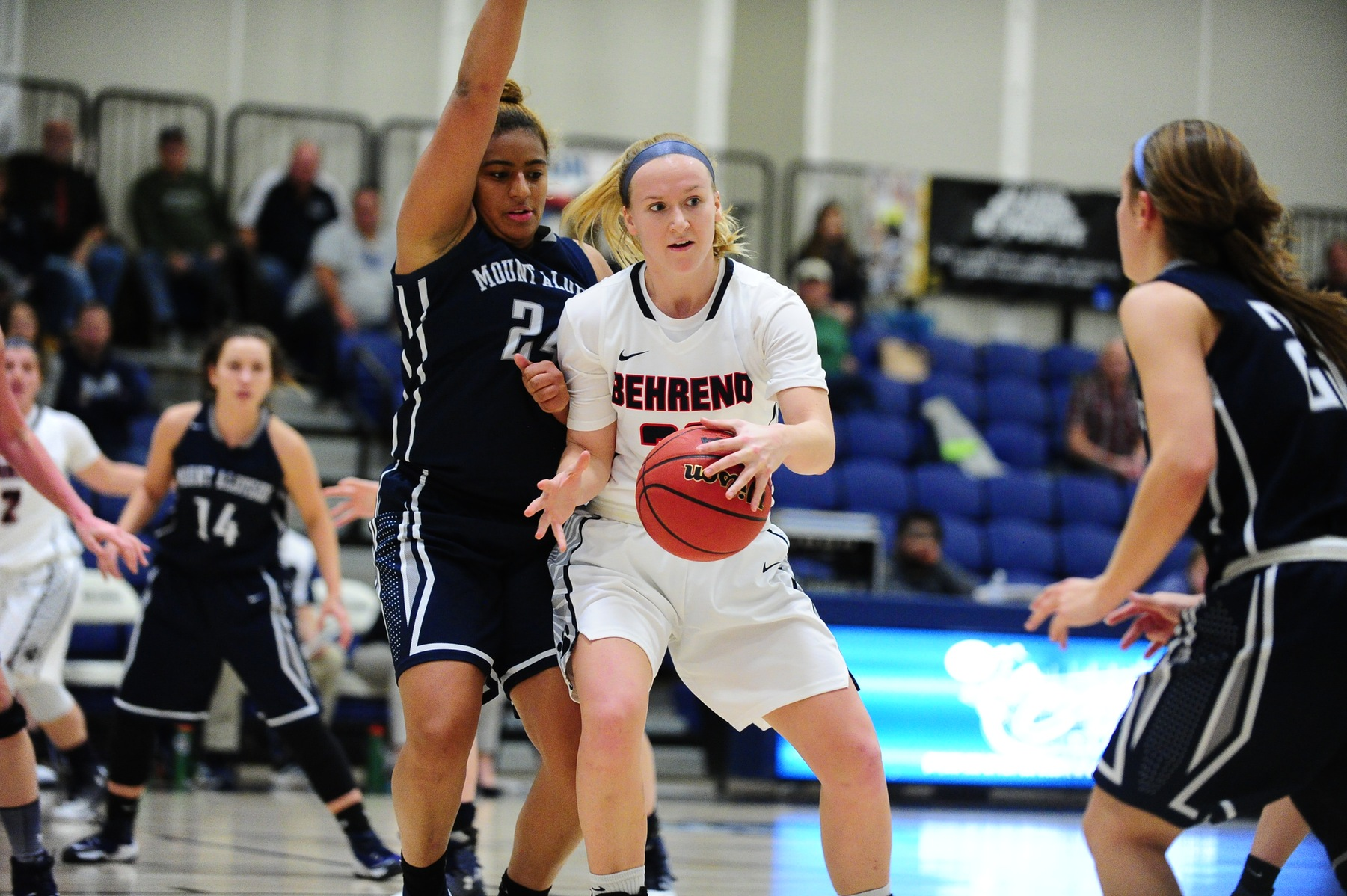 Women's Basketball Knocks Off Mt. Aloysius; Lions Advance to AMCC Semifinals