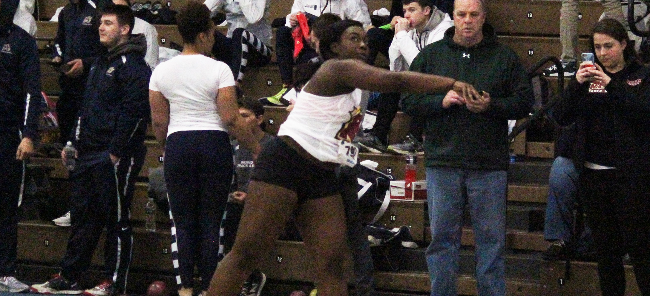 Akanegbu Sets Program Record At UMass Boston Indoor Open