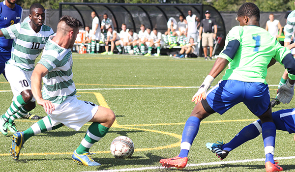 Pair of Goals in Five-Minute Stretch Allow Caldwell to Upset No. 23 Wilmington Men's Soccer