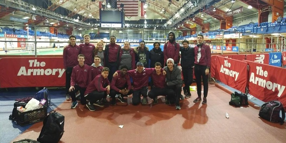 Track and Field Closes Out Indoor Season with Several More School Records at Armory Last Chance Meet
