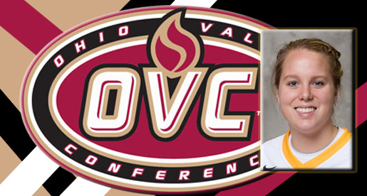 Women's basketball senior Kellie Cook selected as OVC Scholar-Athlete