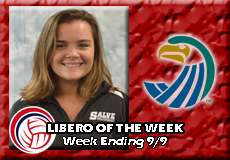 Katie Linekin-Salve Regina, Women's Volleyball: Libero of the Week