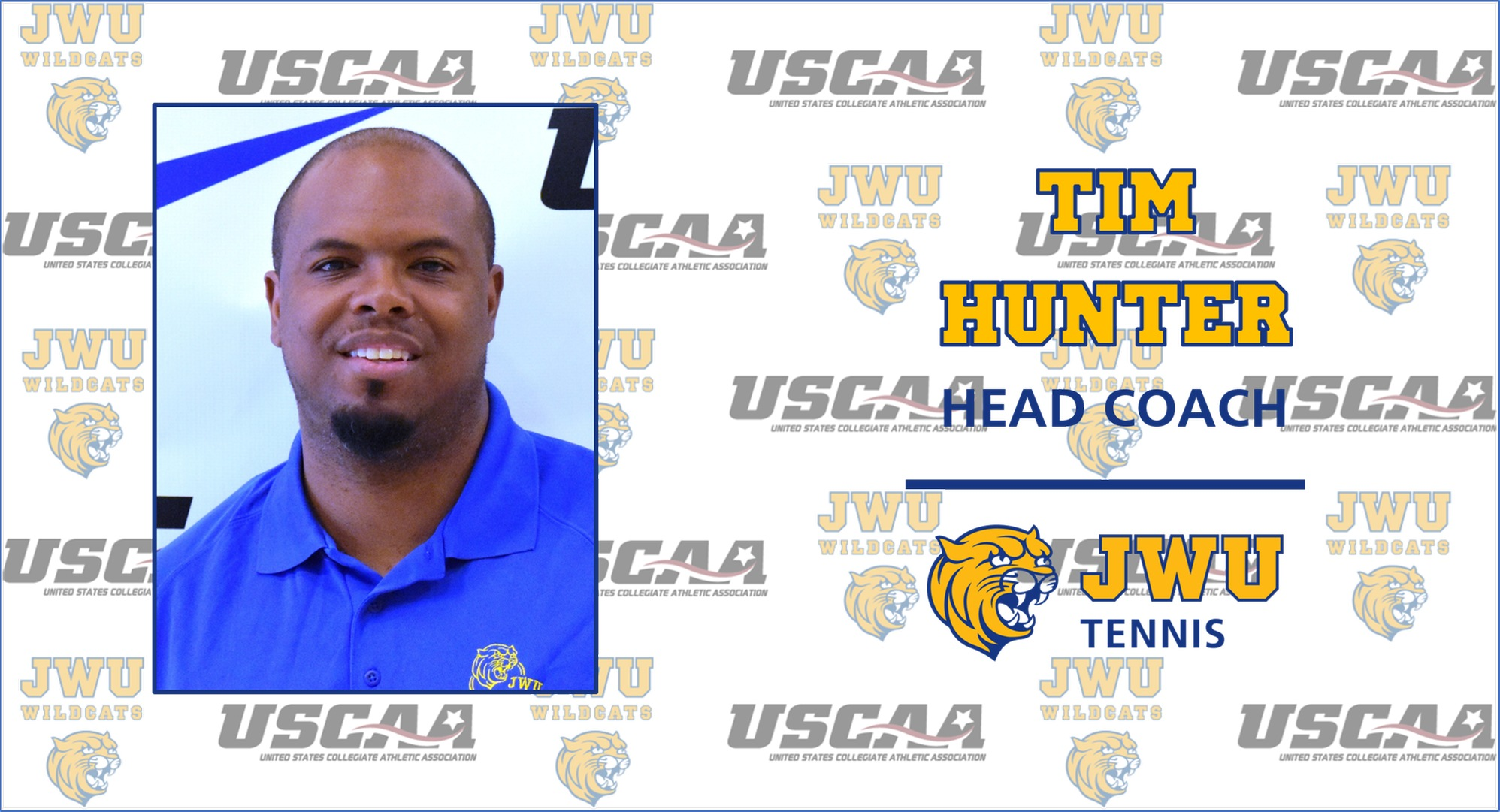 Tim Hunter Tabbed As JWU Men's & Women's Tennis Head Coach