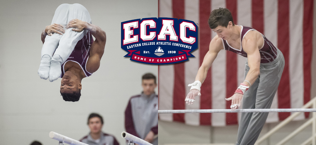 Lamberton and Lewis Garner ECAC Men's Gymnastics Weekly Honors