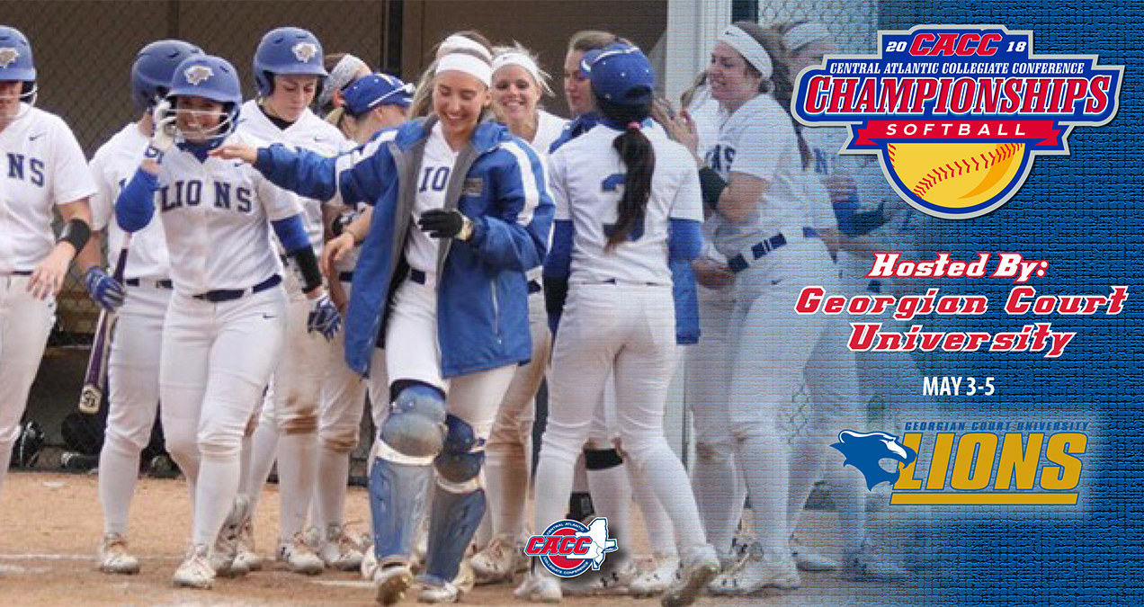 Georgian Court to Host 2018 CACC Softball Championship May 3-5