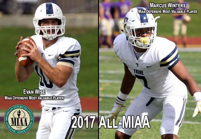 Wyse, Marcus Winters Highlight All-MIAA Football Selections