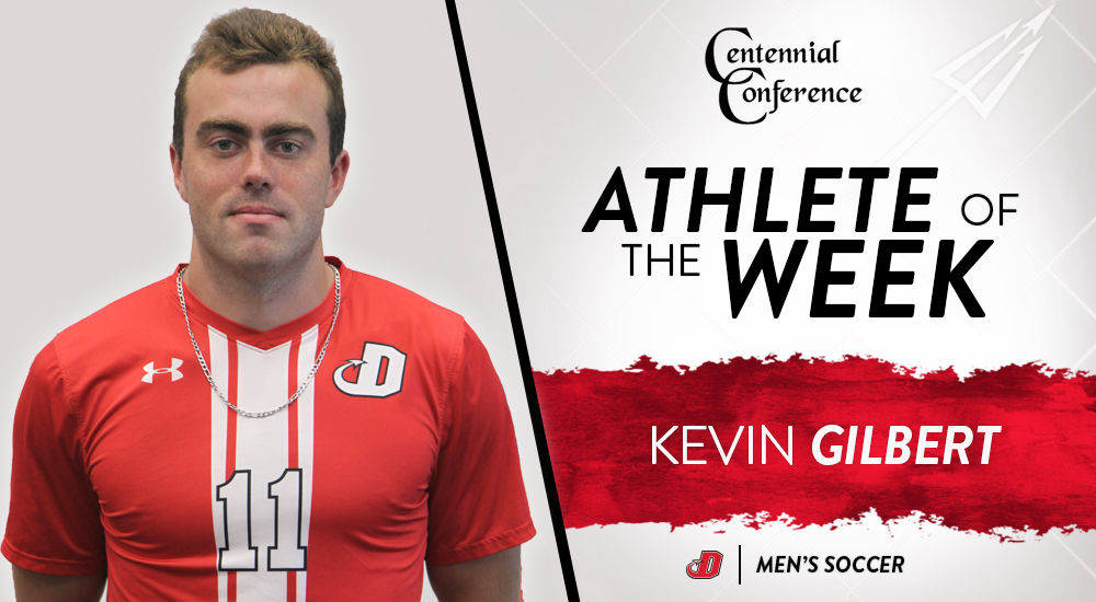 Gilbert Named CC Men's Soccer Player of the Week