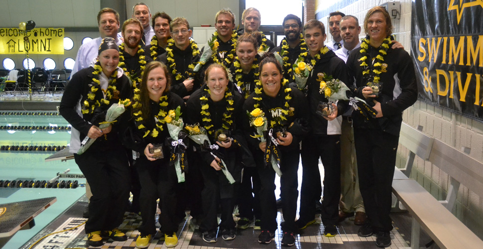 Three Pool Records Fall as UMBC Sweeps Howard on Senior Day