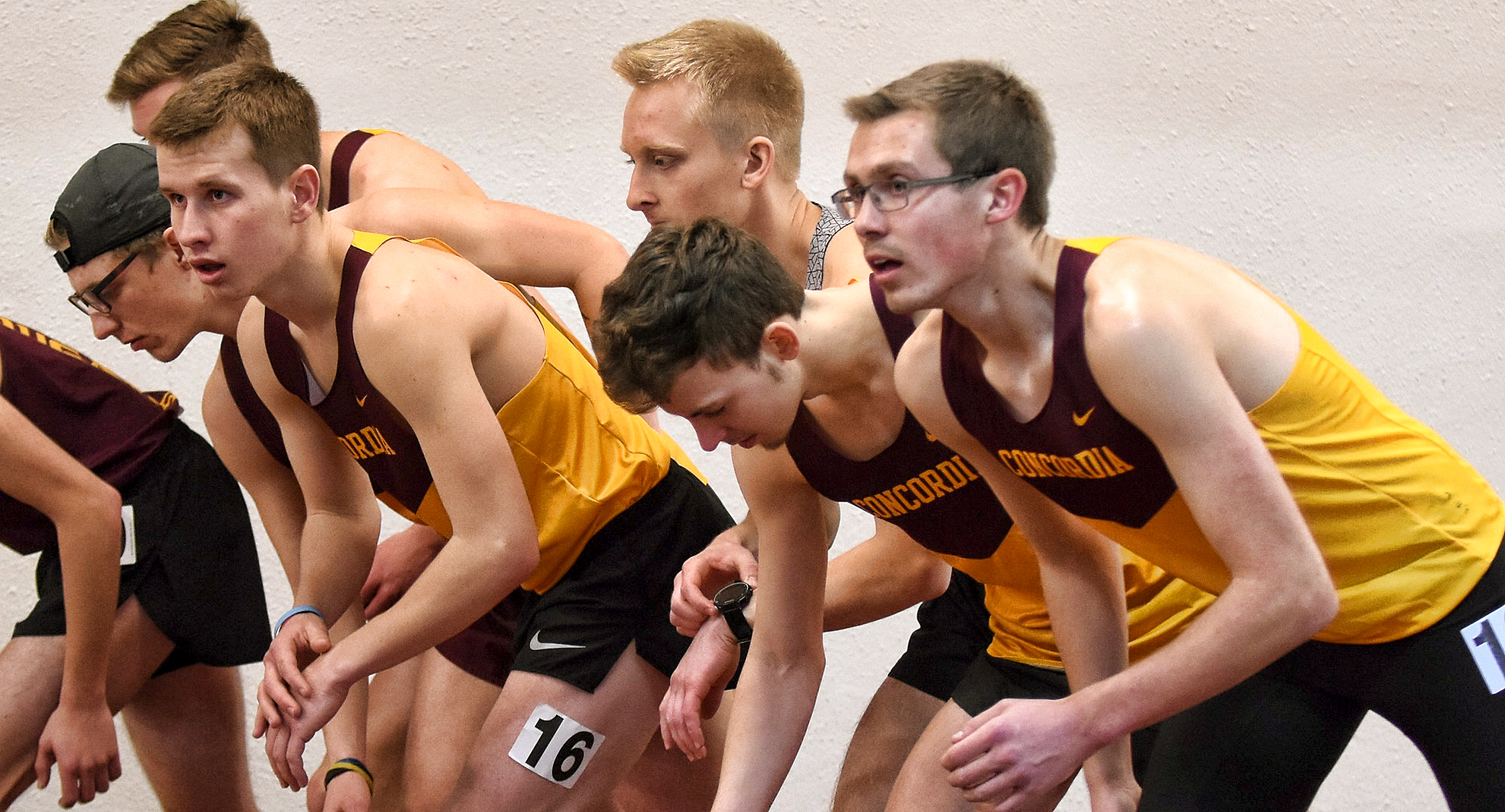 The Cobber track and field team finished in third place at the St. John's Invite.