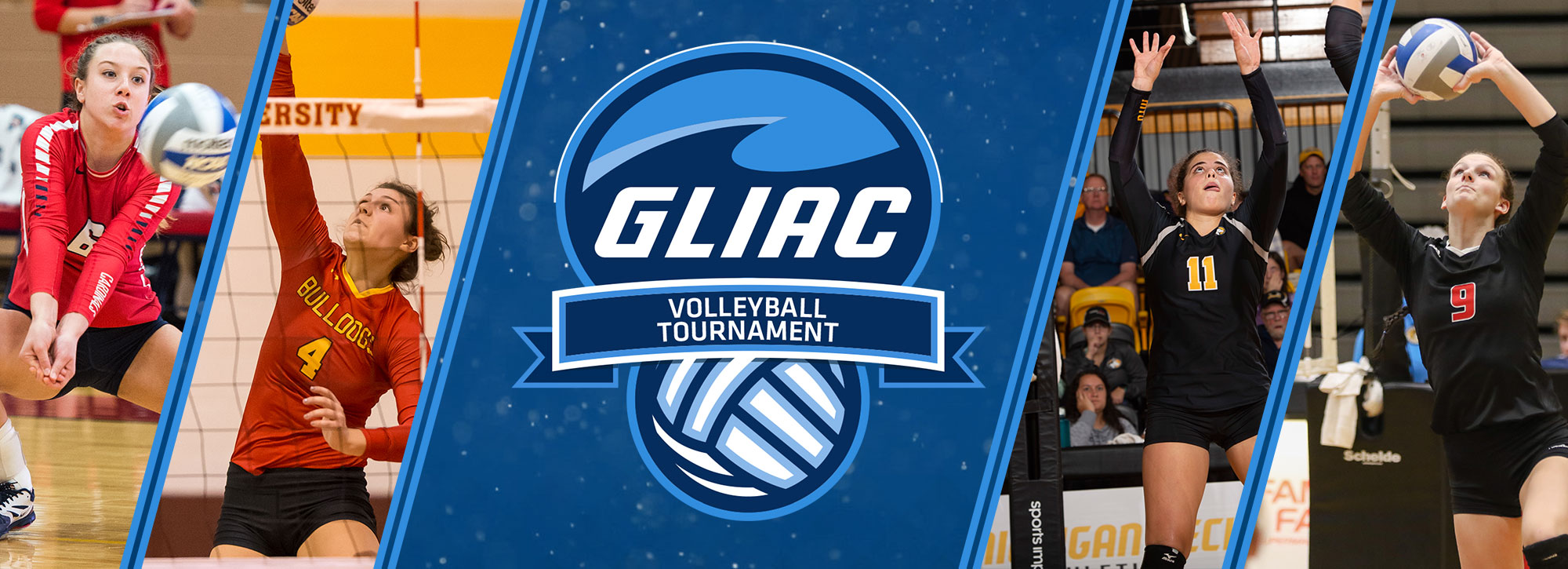 Final Four Teams Headed to Ferris State for GLIAC Volleyball Tournament Weekend