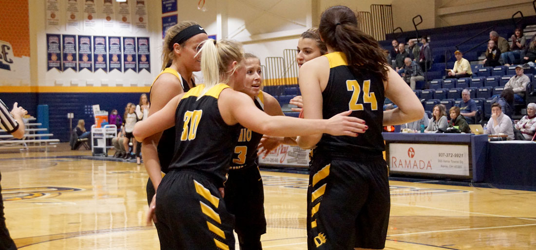 Valiant Effort Falls Shy As Women's Basketball Drops Narrow Decision At Cedarville