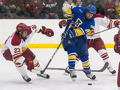 FSU Battles To Tie & Drops Shootout To Alaska