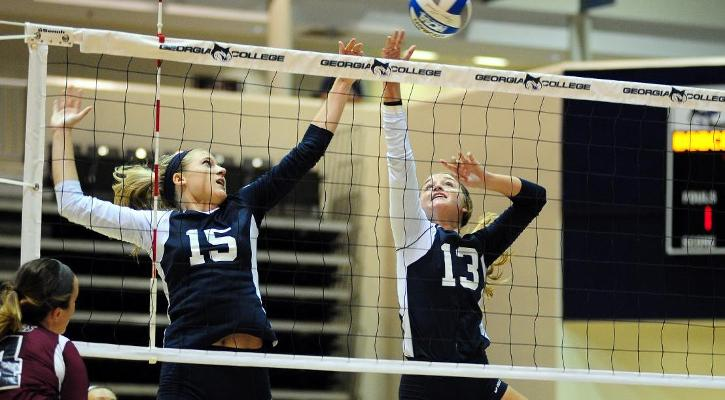 GC Volleyball Falls at Lander in Three