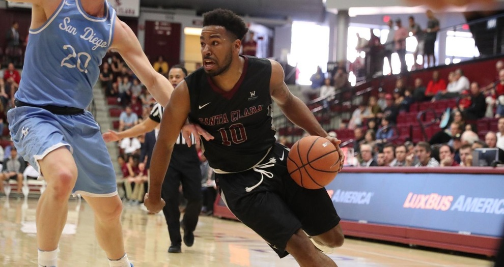 Strong Second-Half Shooting Sends Men's Basketball Past San Diego, 70-64