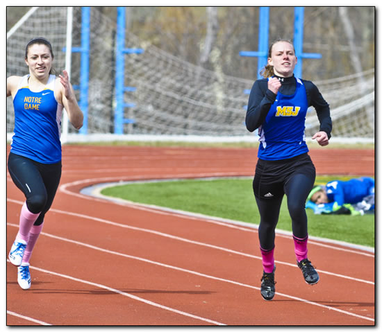 Women's Track takes Eleventh at Hanover Invitational