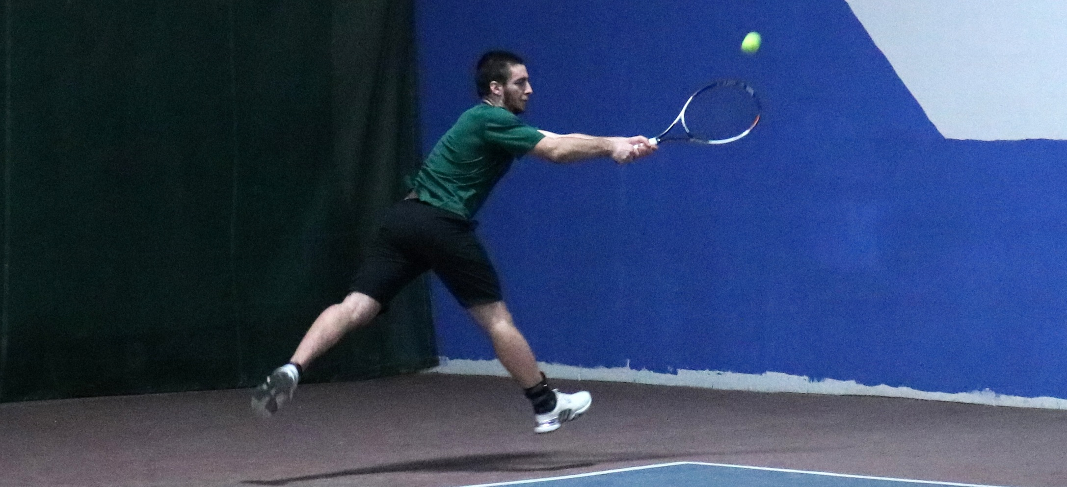 Hornet men's tennis falls to D2 St. Michael's