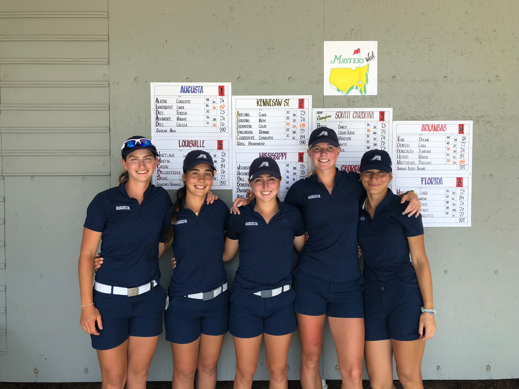 Augusta Wins Stroke Play, Finishes Runner-Up In Match Play At Liz Murphey