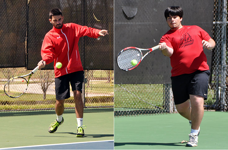 Men's Tennis: Sizenando and Glass receive team awards