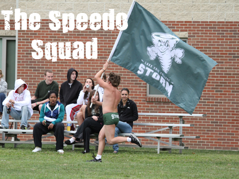 Storm Speedo Squad Rages On (Video Story)
