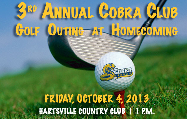Cobra Club Golf Outing at Homecoming Set for Oct. 4