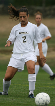 UMASS BLANKS BRYANT, 2-0, WEDNESDAY AFTERNOON