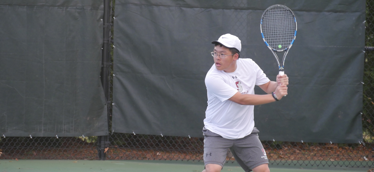 Men's Tennis Comes Up Short Against Emerson, 5-4