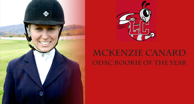 Hornet Mckenzie Canard Named ODAC Equestrian Rookie of the Year