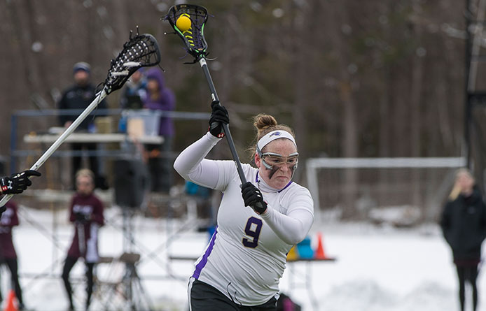 Women's Lacrosse Completes Run Against National-Ranked Foes, Falls to No. 10 Pace