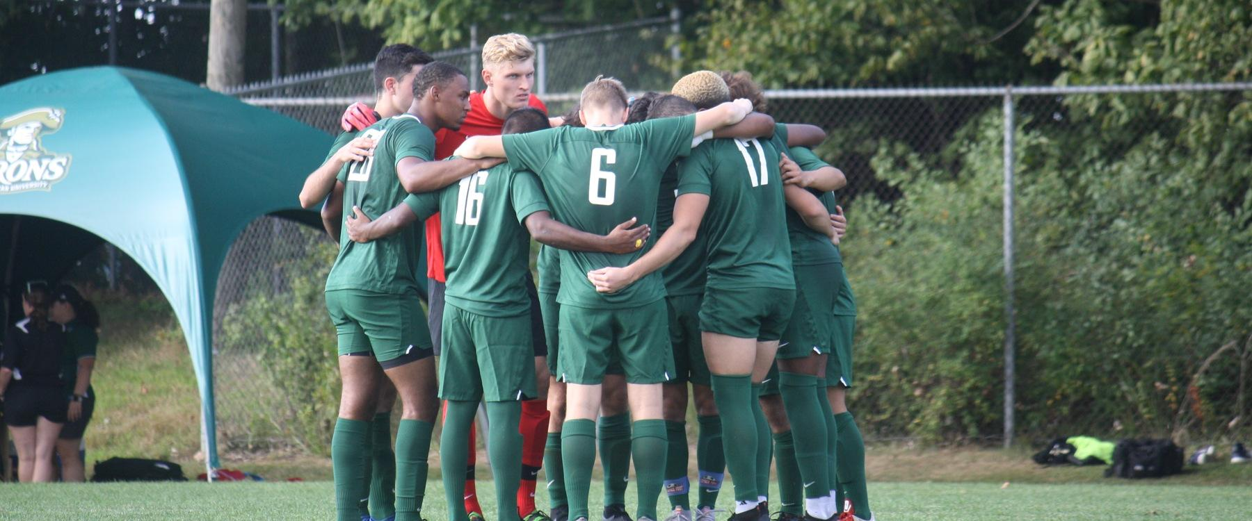 Men's Soccer Handed 4-Nil Decision by Geneva
